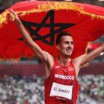 Soufiane El Bakkali regala la primera medalla de oro a Marruecos en 3.000 m obstáculos
